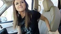 Blowjob in car - AMATEUR321.COM