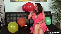 Step Mom Balloon Blowjob thumb