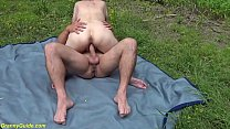 chubby 85 years old granny first time outdoor sex Vorschaubild