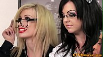 Spex cfnm femdom facialized after cocksucking pornhub video