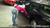 Amateur Ellen banged with pervert dude for alot of money