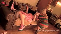 Tinkerbell plays with real erotic doll ~ esmer porno thumbnail