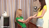 Bethany and Agathe pleasure each other in Coed ...