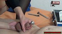 CUMSHOT drainage pipe - Deutsche Fedom BDSM Milf fetisch thumbnail