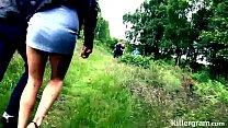 Sub slut girlfriend used by older men in public gangbang tumblr xxx video