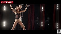 Lucky Lutro fullfils hot babe's BDSM Fantasy (Candice Luca) صورة