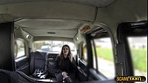 Damn hot chick goes missionary sex position with her taxi driver thumbnail