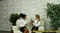 Watersports Threesome Sex