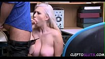 BLONDIE forced to FUCK for her SINS- JAILER's Thumb