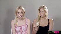 14037 Teen Sisters Give Step Daddy Ultimate Fathers Day Threesome S10:E1 preview