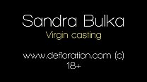 Sandra Bulka. 18 y.o beautiful real virgin girl from Russia will confirm her virginity right now! Close-up hymen shot!