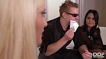 Young Poker Stud Fucks 3 Hot Sluts In One Go!