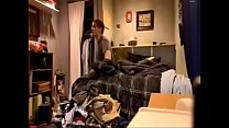 Homemade Young Couple In Messy Room