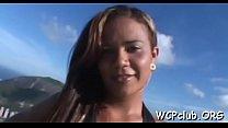 Ebony pal bangs white beauty's Thumb