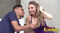 Making Off Sabrina e Cristian em seu primeiro Pornô image