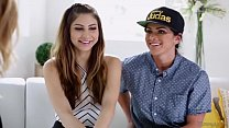 Mommy's little girl is a lesbian! - Nina North, Aspen Rae and Mona Wales preview image