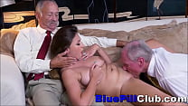 Screenshot Big Tits Teen W hore Sucks & Fucks 2 Old Ge  Fucks 2 Old Geezers