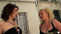 Regina initie Kaelys qui n'a jamais connu de bite de blanc - Beurette Video video