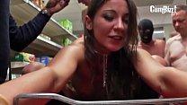 Julie Skyhigh Supermarkt GangBang (Tube) Thumbnail
