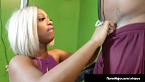 Phat Ass Pussy Cherise Rozy Dicked By Black Cock Rome Major! - jumbo juggs thumbnail