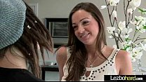 Horny Lesbo Teen Girls (Abigail Mac & Daisy Summers) Make Love On Cam video-03