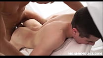 Two Mormon Twinks Fuck While On Mission