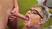cum mouth granny compilation pt2