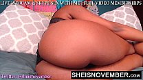 9180 BIG BOOTY WEBCAM MODEL BABE MSNOVEMBER POUNDING HER PUSSY HARD ORGASM CAM MODEL Sheisnovember preview
