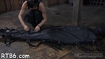 Leather pet gets her suffocating mask removed preview image