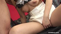 Sayuri getting a cock suck chow down and get fucked - 9Club.Top