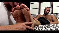 Sexy gay porn in foot fetish