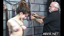 Extreme thraldom in avid scenes video