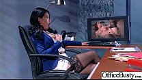 Sex Scene In Office With Slut Hot Busty Girl (Cindy Starfall) video-30