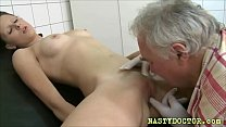 Teen patient fucked by an old doc