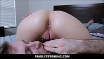 18323 Sexy Natural Big Tits Teen Stepsister Michele James And Her Stepbrother Have Make Up Sex preview