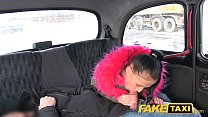 Fake Taxi Big natural bouncing tits brunette in Czech taxi: sexy bf download thumbnail