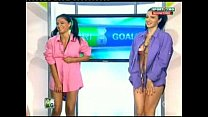 Goluri si Goale ep 13 Gina si Roxy (Romania naked news) porn image