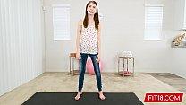FIT18 - Hannah Hays - 43kg - Creampie A Skinny Country Girl - 60FPS - 9Club.Top