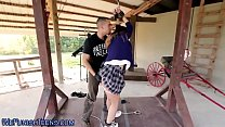 Whipped and bound teen video
