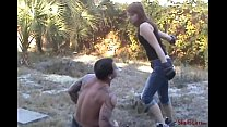 Red's First Beatdown - Brutal Outdoor Beating