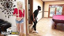 BANGBROS - Petite Teen Elsa Jean VS Home Invader Ricky Johnson Thumbnail