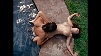 Lisa Boyle hard fucked near pool