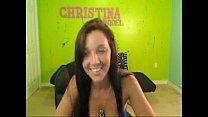 Christina Models bouncing huge boobs -  - 9Club.Top