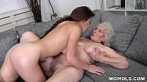 GILF And Young Employee Having Lesbian Sex   Ti