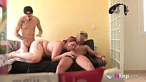 5155 Fucking in front of house guest turns into threesome!! preview