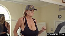 Kelly Madison's Cock Milking Morning Routine