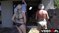 Polish porn - Summer adventure with mature busty women
