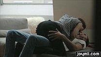 Smoking-hot Josephine with big tits fucks boyfriend