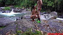 (4K) Fucking by the river in Costa Rica with Andy Savage & Suki