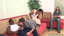 White wife pounded by 2 negros